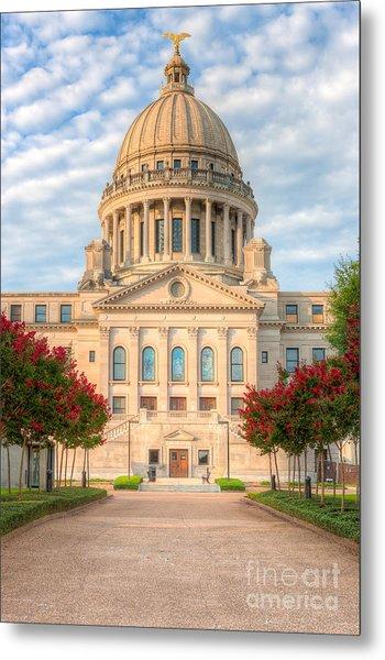 Mississippi State Capitol V Metal Print