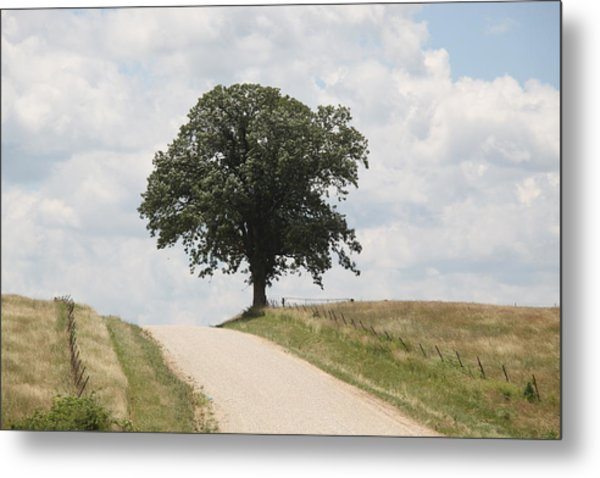 Missouri Road Metal Print