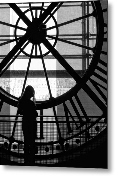 Mistress Of Time Lost Metal Print by Wesley S Abney