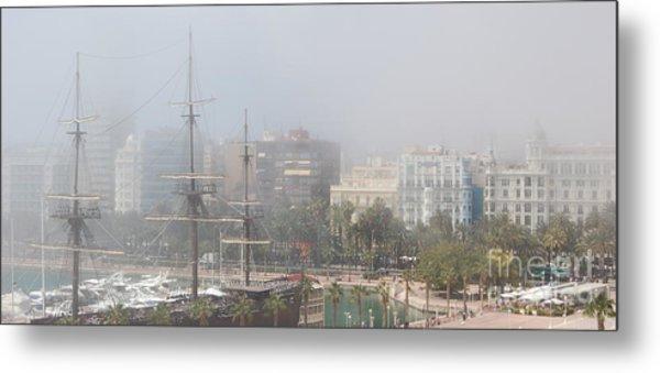 Misty Alicante Metal Print