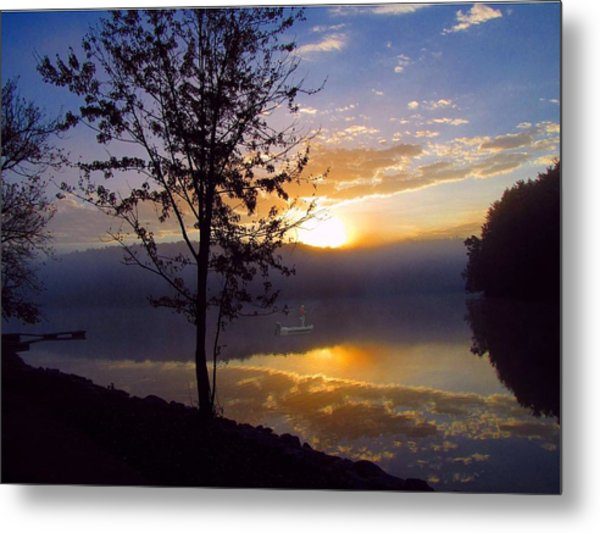 Misty Reflections Metal Print