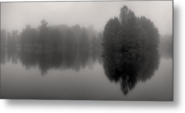 Misty Reflections Metal Print by Patrick Jacquet