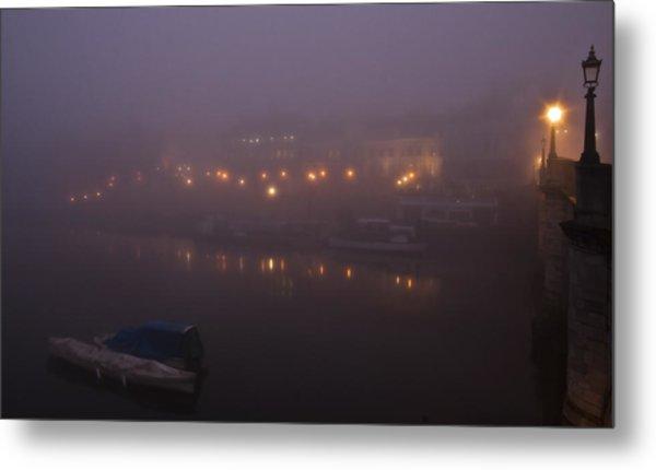 Misty Richmond Upon Thames Metal Print