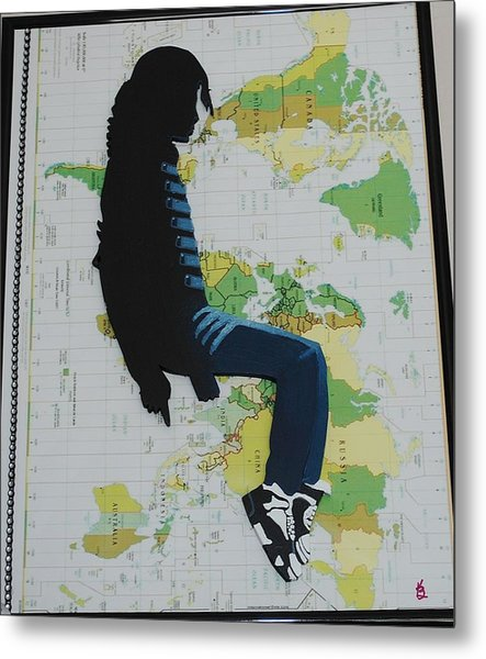 Mj They Dont Care Metal Print