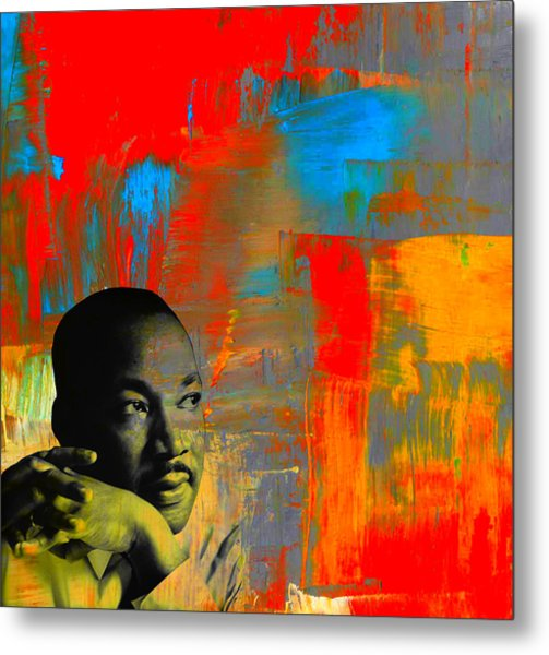Mlk Dreams Metal Print