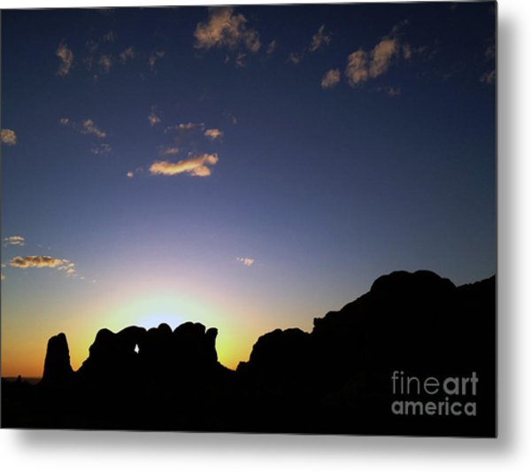 Metal Print featuring the photograph Moab Sunset by Kate Avery