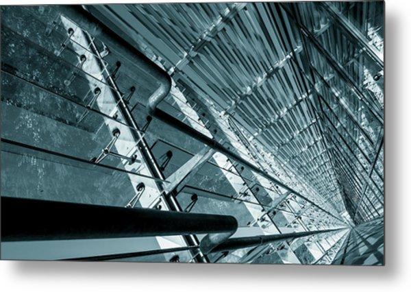 Modern Abstract Architecture Metal Print by Wladimir Bulgar
