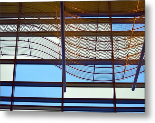 Modern Artwaves Metal Print
