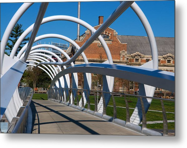 Modern Bridge  Metal Print