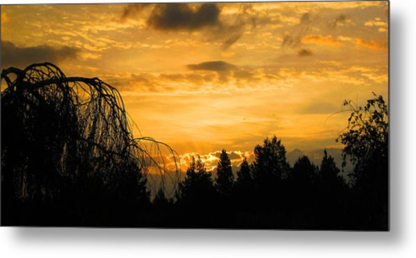 Modoc Sunrise Metal Print