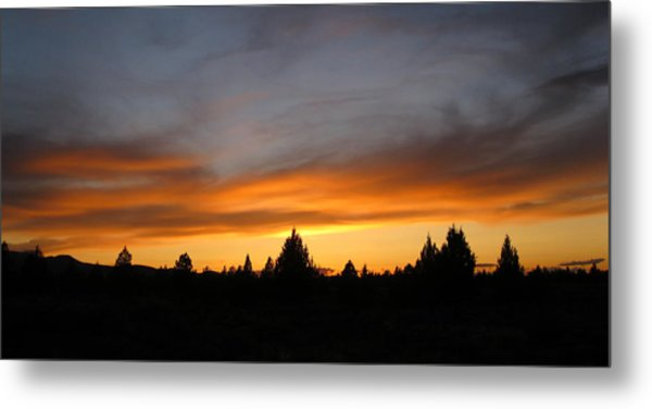 Modoc Sunset Metal Print