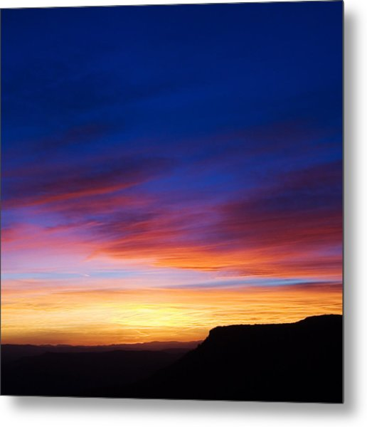 Mogollon Rim Afterglow Metal Print