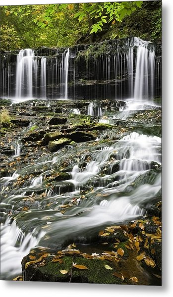 Mohawk Falls 2 Metal Print