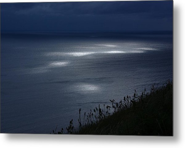 Moher Light Dance Metal Print