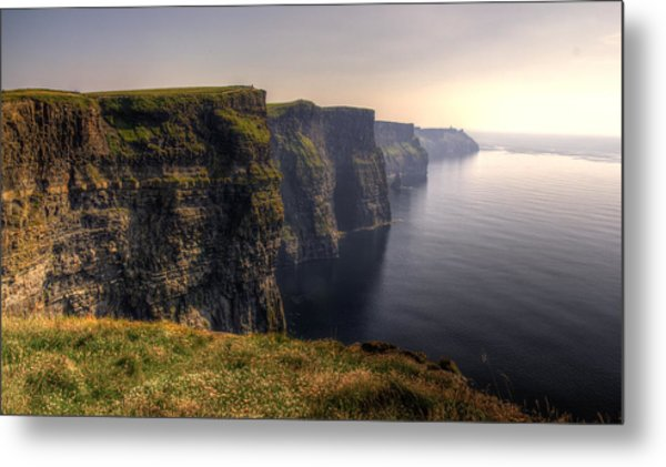 Moher Sunset Metal Print