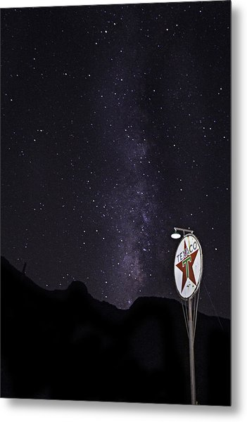 Metal Print featuring the photograph Mojave Milky Way 3 by James Sage