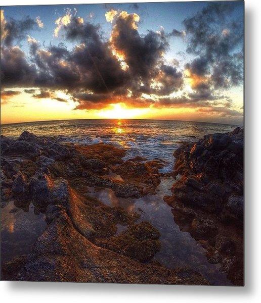 Molokai Sunset Metal Print