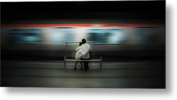 Mom!  Do Not Leave Me... Metal Print by Ademhabibe