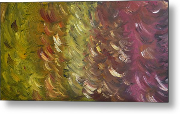 Moment Breeze - Sold-oil Painting Metal Print