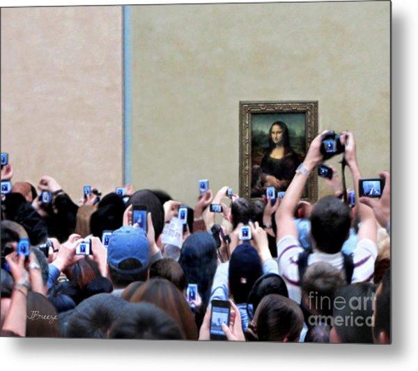 Mona Mobbed Metal Print