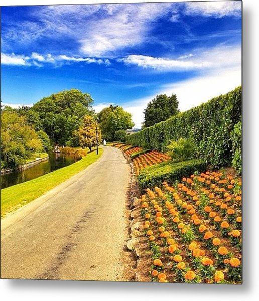 Mona Vale, With Its Homestead Formerly Metal Print