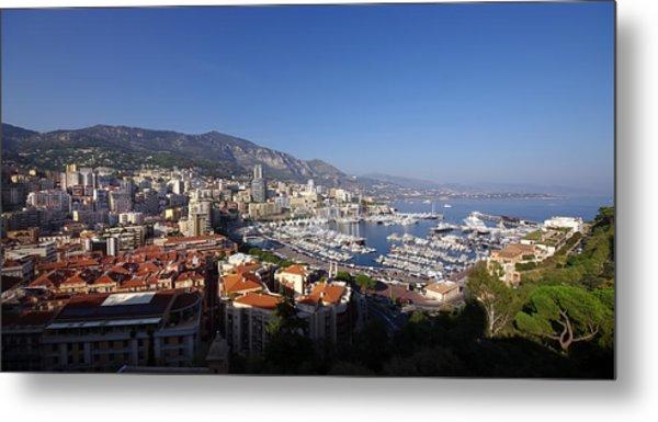 Monaco Metal Print by Ioan Panaite
