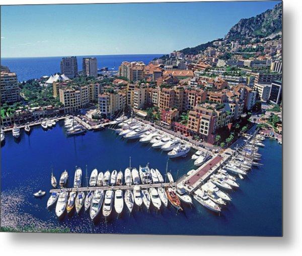 Monaco, La Condamine Metal Print by Hans-peter Merten