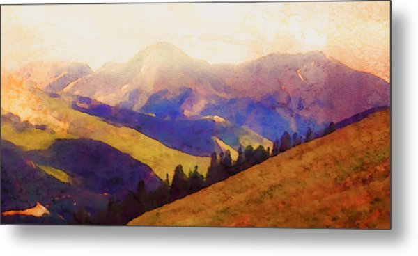 Monarch Pass Colorado Metal Print