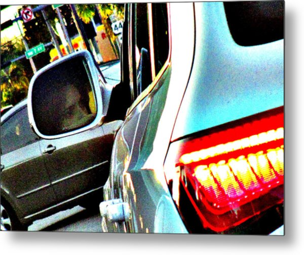 Monday Traffic Metal Print
