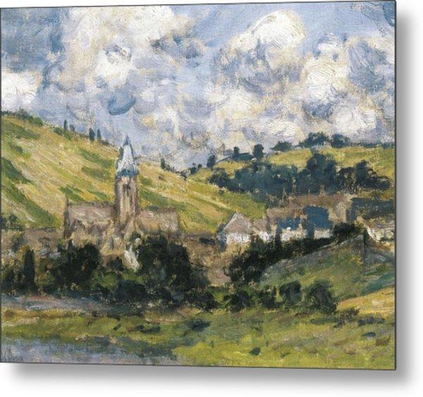 Monet, Claude 1840-1926. Landscape Metal Print by Everett
