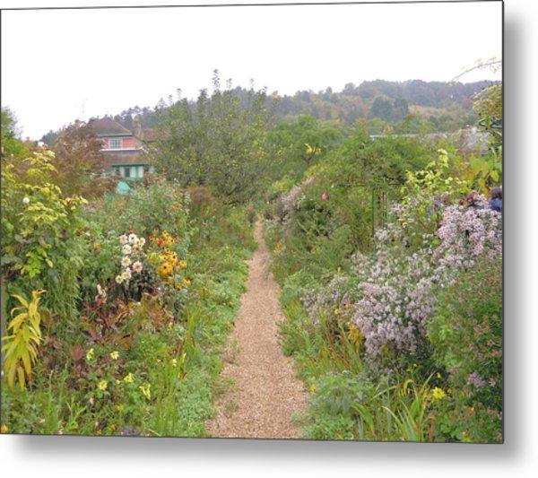 Monet's Garden 5 Metal Print