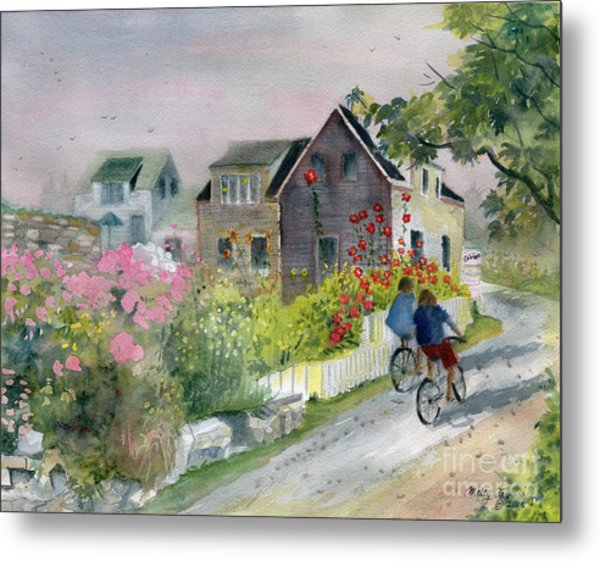 Monhegan In August Metal Print