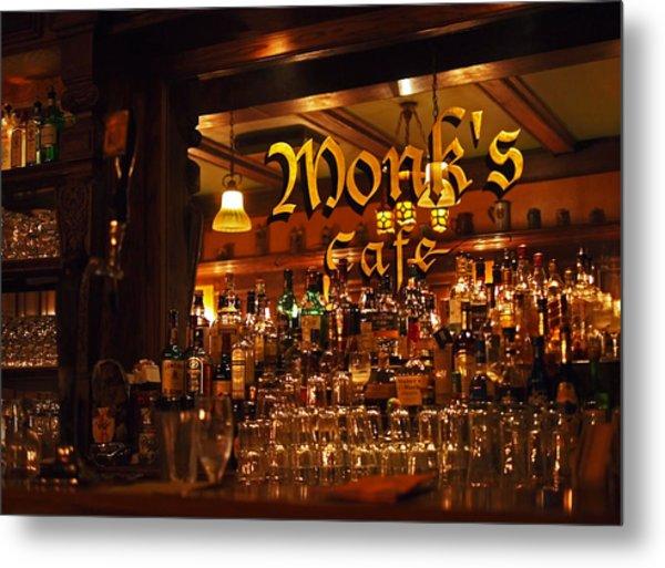 Monks Cafe Metal Print