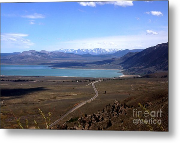 Mono Lake And The Sierra Nevada Metal Print
