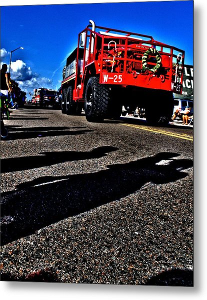 Monster Truck Metal Print