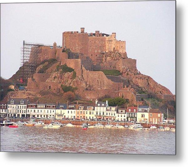 Mont Orgueil Gorey Castle Metal Print