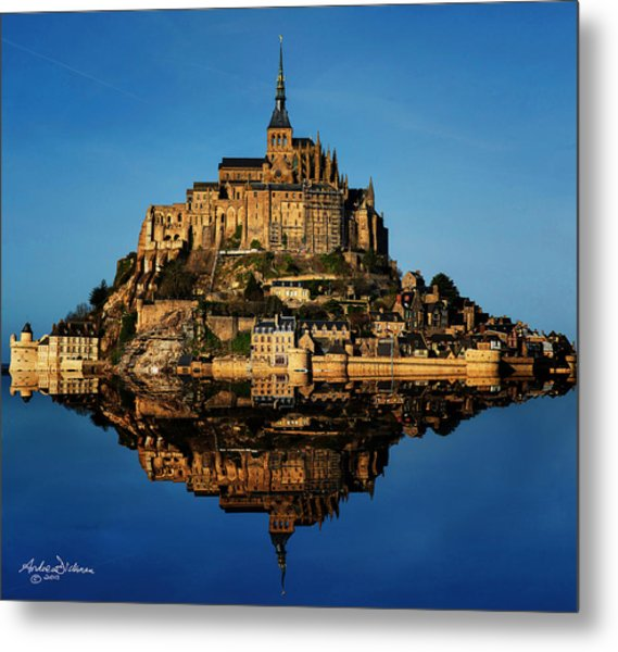 Mont St Michel Metal Print