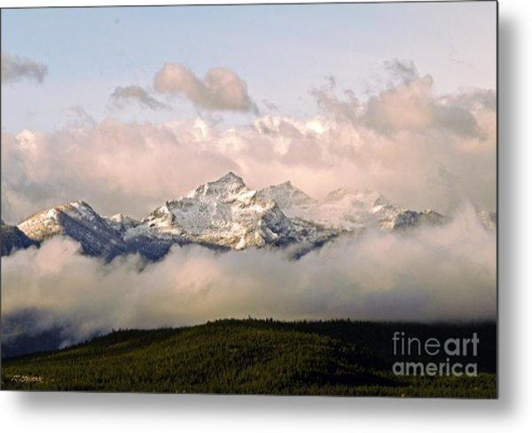 Montana Mountain Metal Print