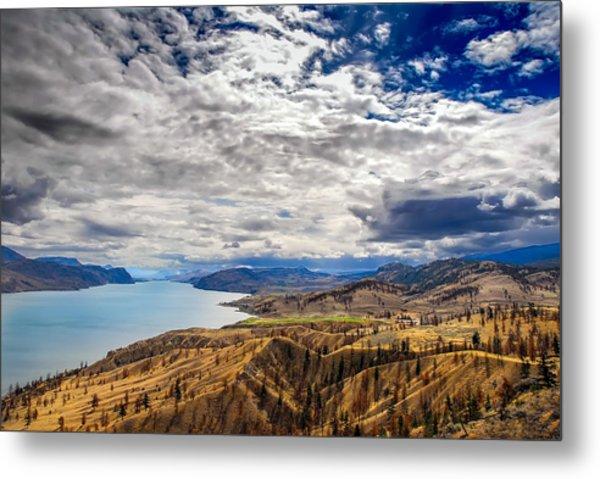 Montana Sky Metal Print