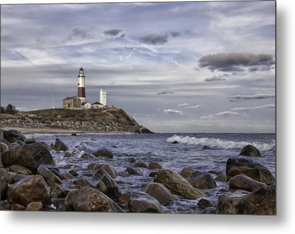 Montauk Afternoon Metal Print