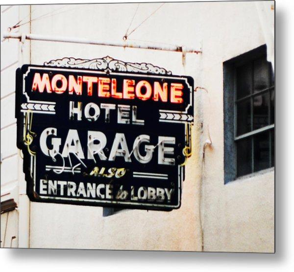 Monteleone Hotel Metal Print