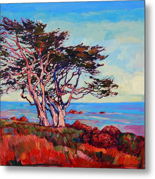 Monterey Diptych Right Panel Metal Print