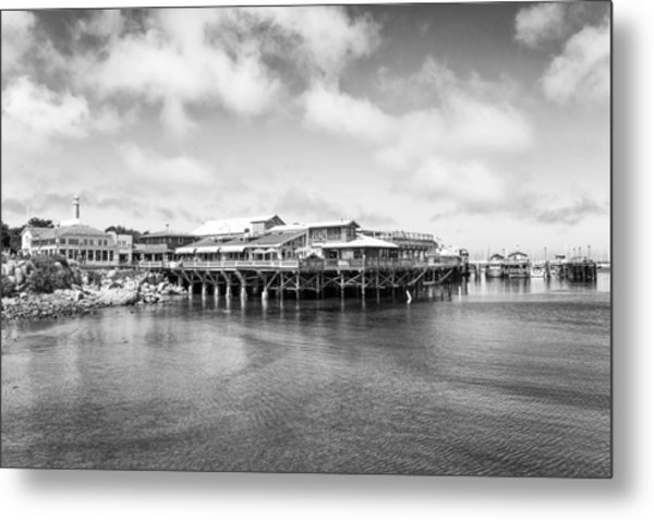 Metal Print featuring the photograph Monterey Old Fisherman's Wharf by Priya Ghose