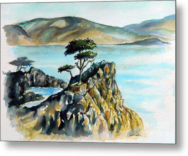 Monterey Pines Metal Print