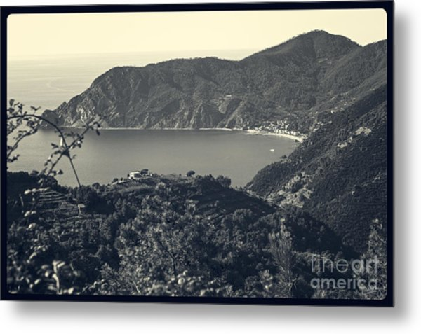 Monterosso Al Mare From Above Metal Print