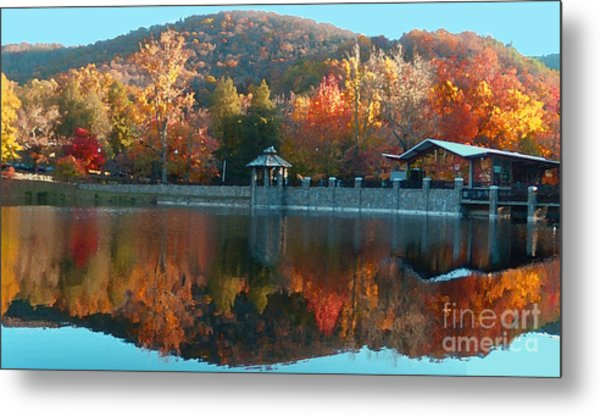 Montreat Autumn Metal Print