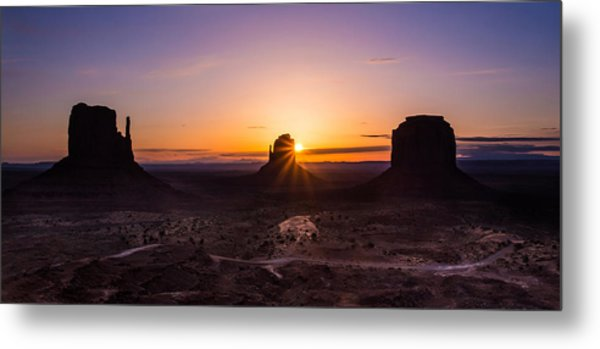 Monument Sunrise Metal Print