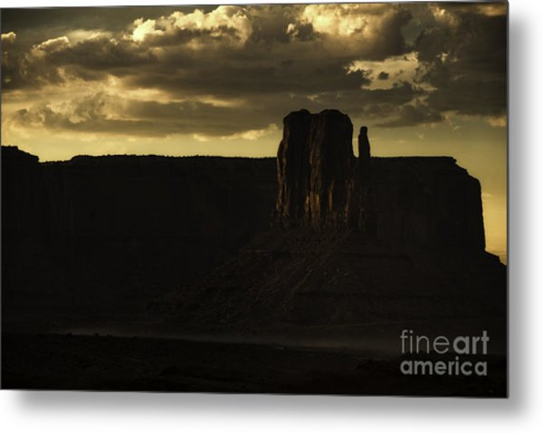 Monument Valley 3 Metal Print by Richard Mason