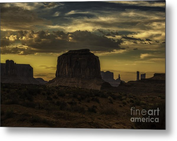 Monument Valley 4 Metal Print by Richard Mason