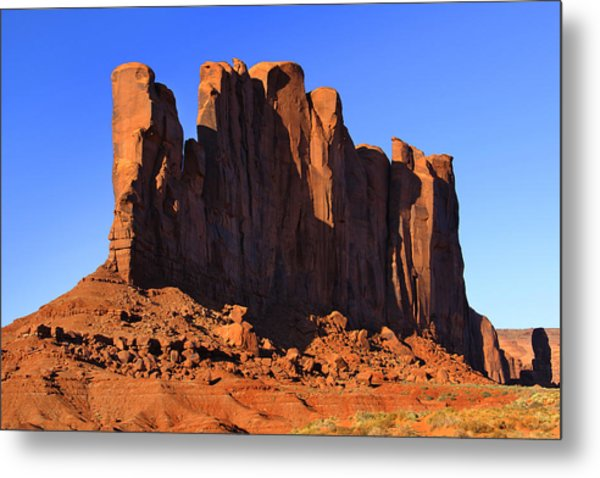 Monument Valley - Camel Butte Metal Print